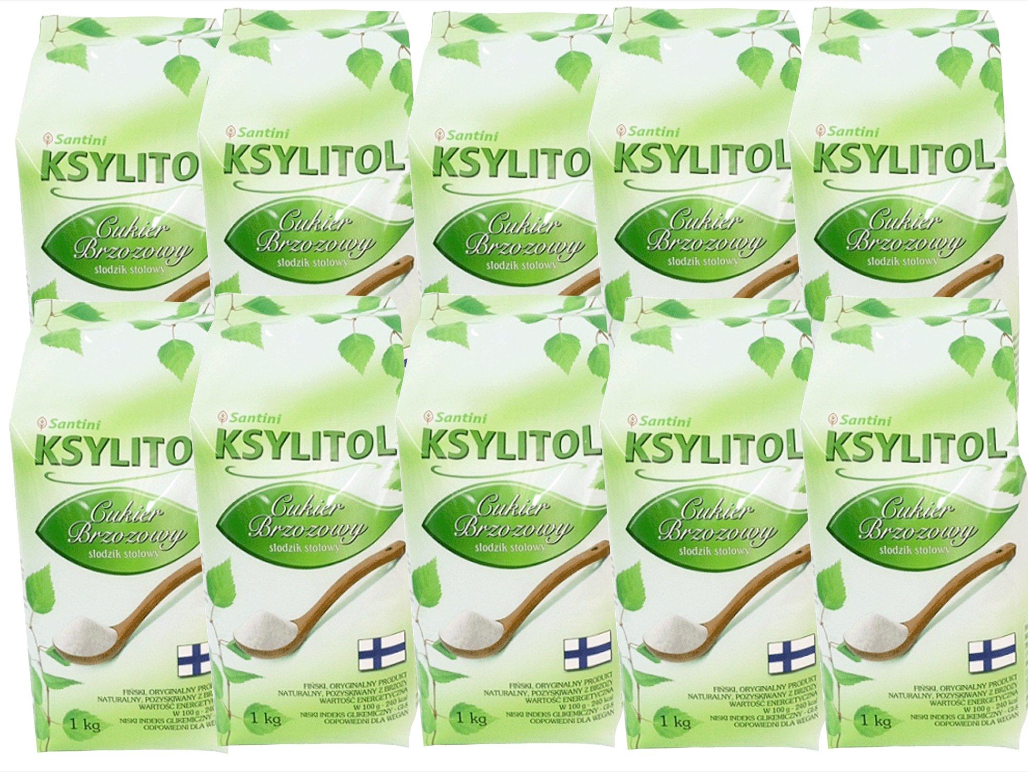 XYLITOL fínsky 10 kg 100% breza cukru, ekonomika
