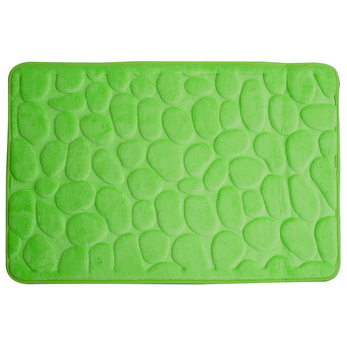 Super mäkká kúpeľňa koberec 60x95 3D zelená