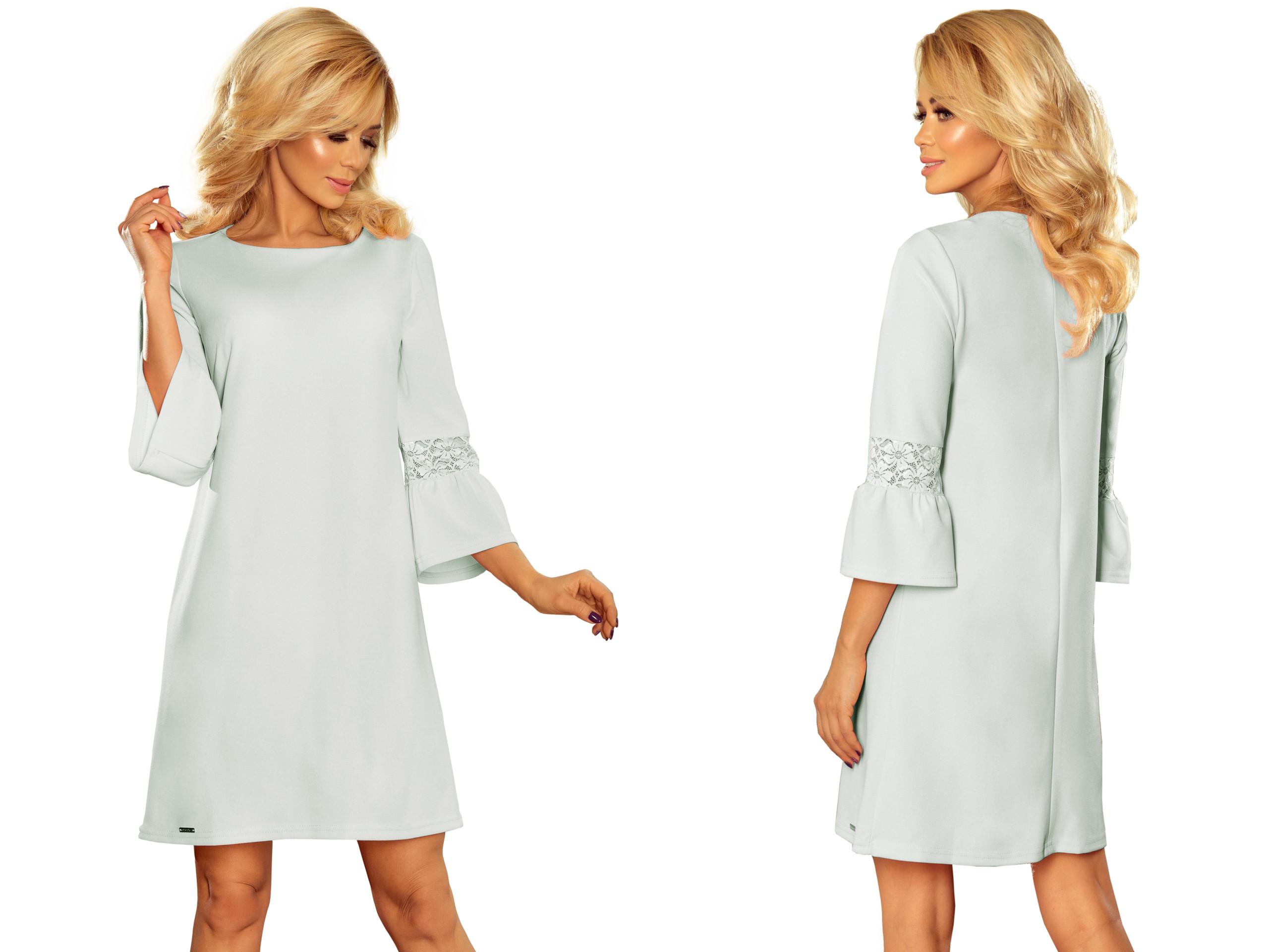 da4b1fe25fc742 Elegancka Sukienka Wizytowa Biznesowa 190-5 S 36 7349059010 - Allegro.pl