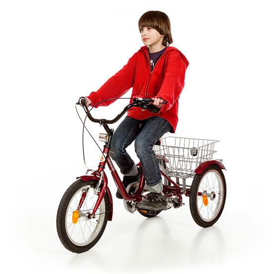 """Bicykel Rehabilitácia Trojkolka Len 16"""" 1C"""