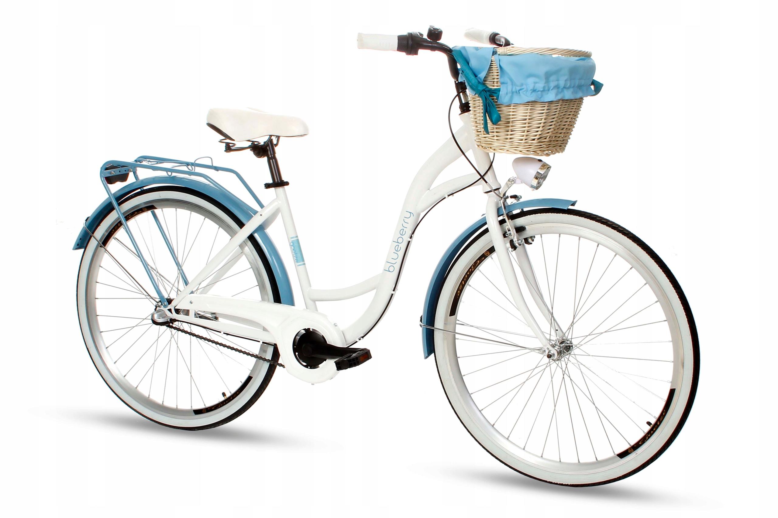 Dámsky mestský bicykel Goetze BLUEBERRY 28 3b košík!  Váha 16 kg