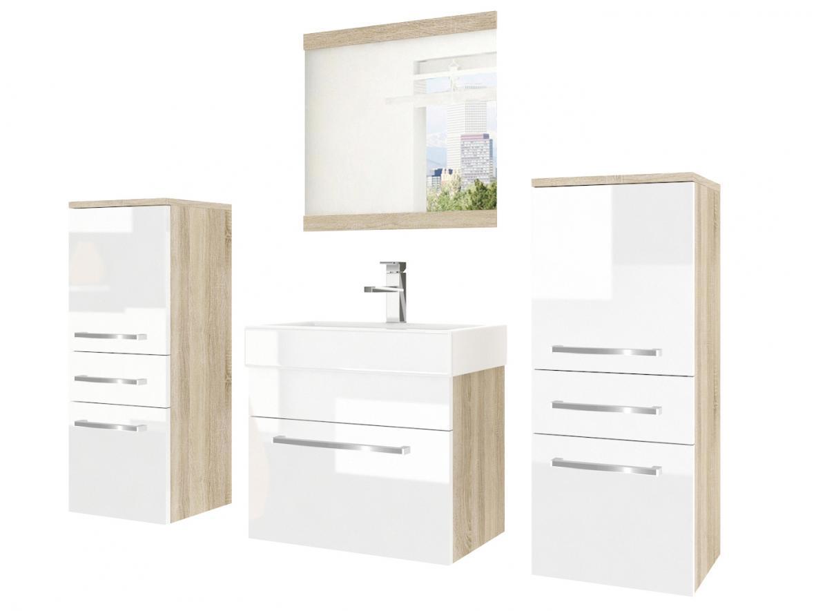 Мебель для ванной комнаты с зеркалом с БАТАРЕЕЙ