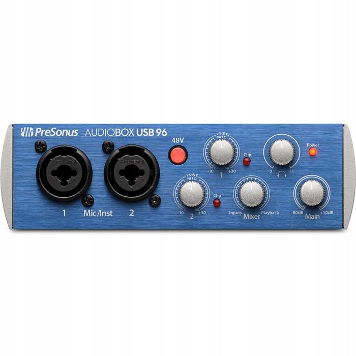 Presonus Audiobox USB 96 Audio rozhranie 3 roky GW