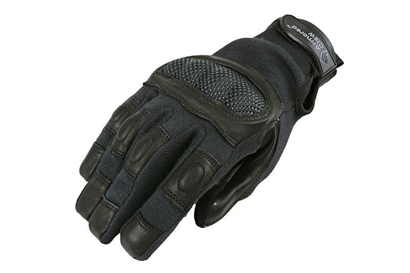 Taktické rukavice HDR Smart Tac Black KEVLAR S