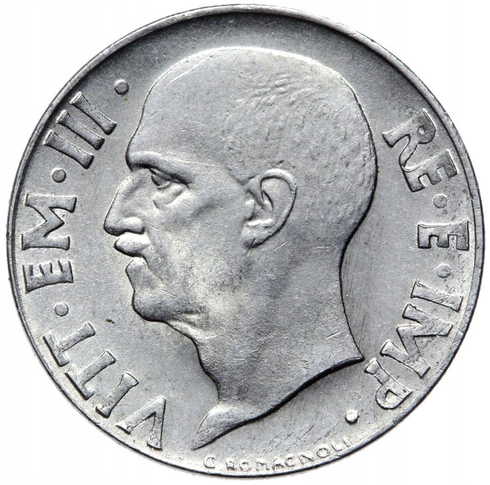 Taliansko - Wiktor Emanuel III - 20 CENTESIMI 1943