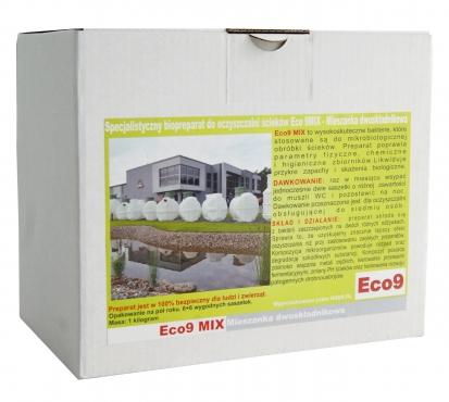 Eco9 MIX 1kg Baktérie pre čističky odpadových vôd v šiestich mesiacov