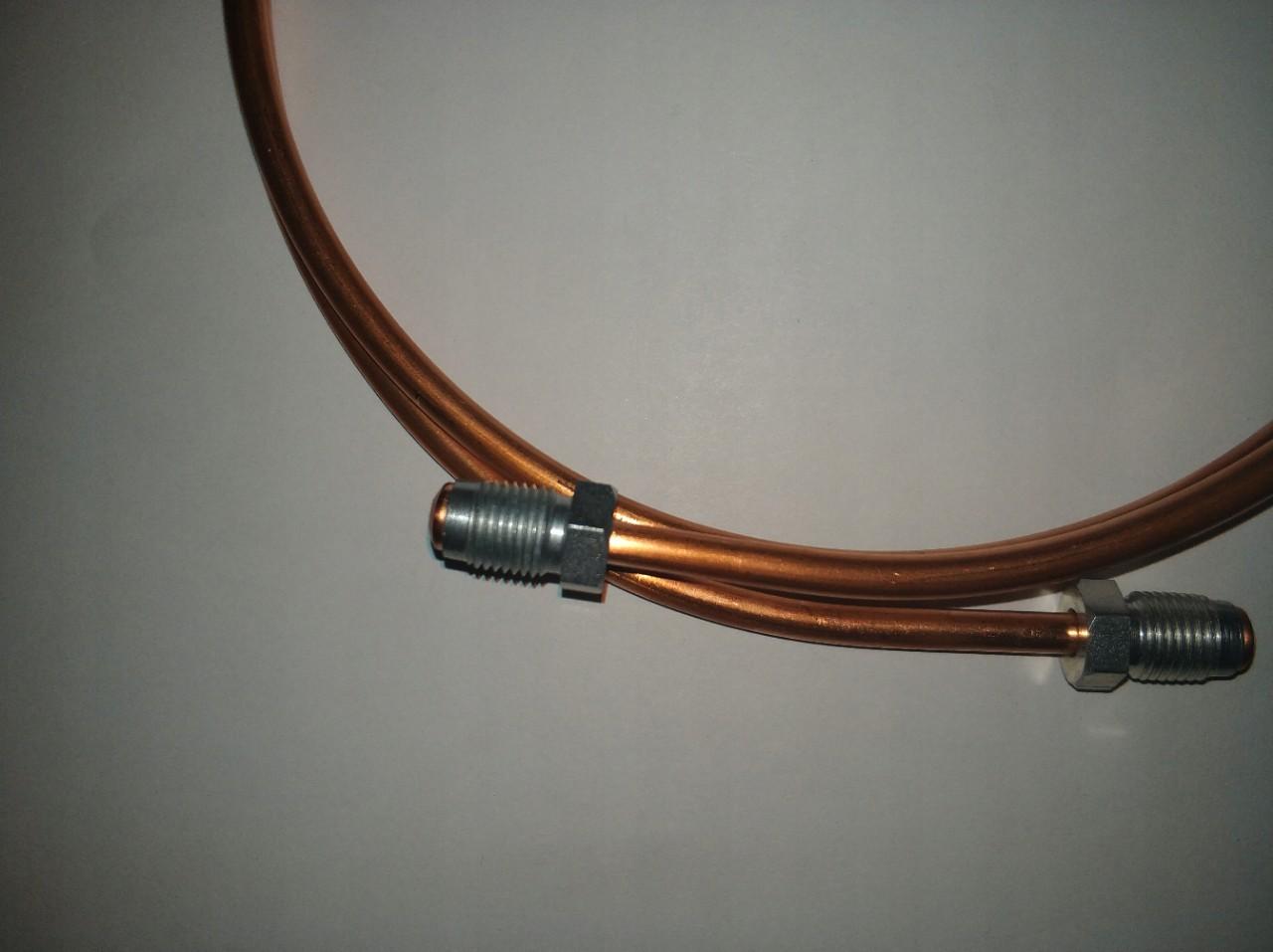 100szt Końcówka złączka przewodu hamulcowego M10x1