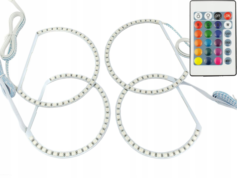 кольца bmw led smd 16 цветные rgb e36 e38 e39 e46