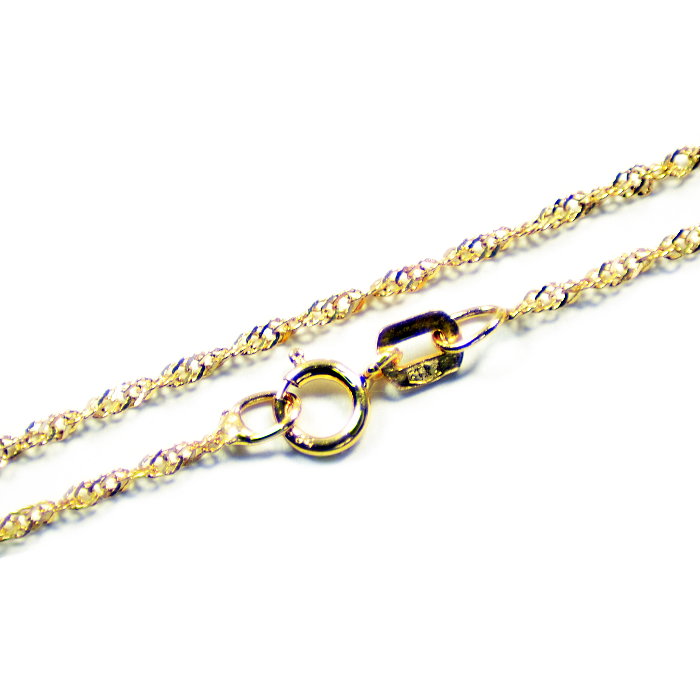 Zlatá Reťaz Zlatý Náhrdelník 585 DŁ45cm (w448)