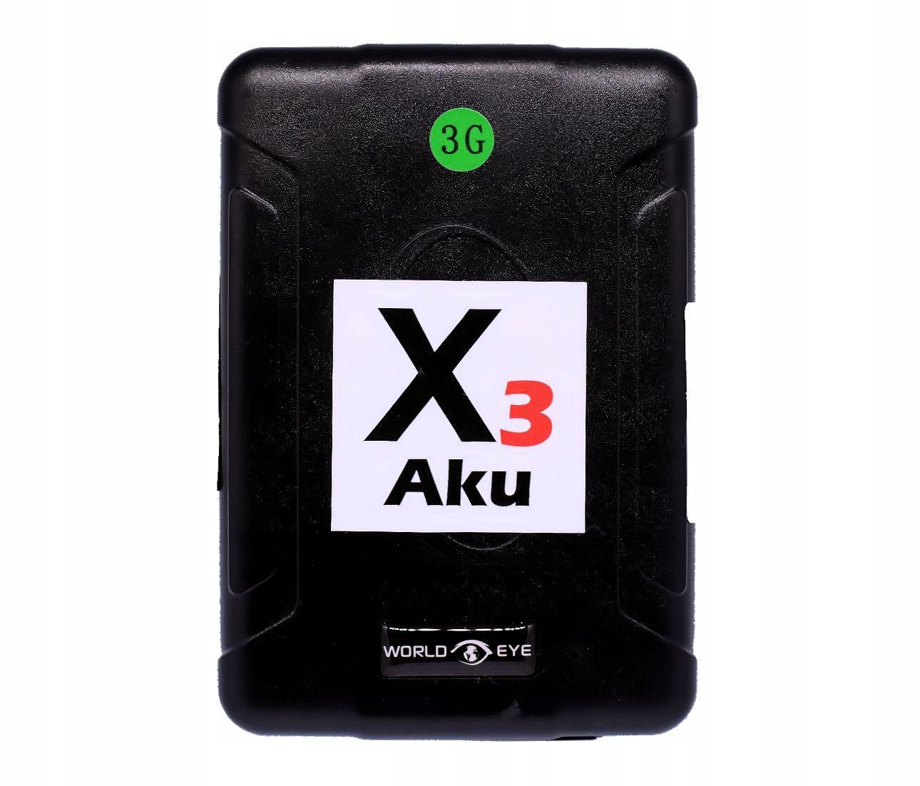 НАСТРОЙКА GPS X3 Aku 3G LOCATOR - 120 ДНЕЙ