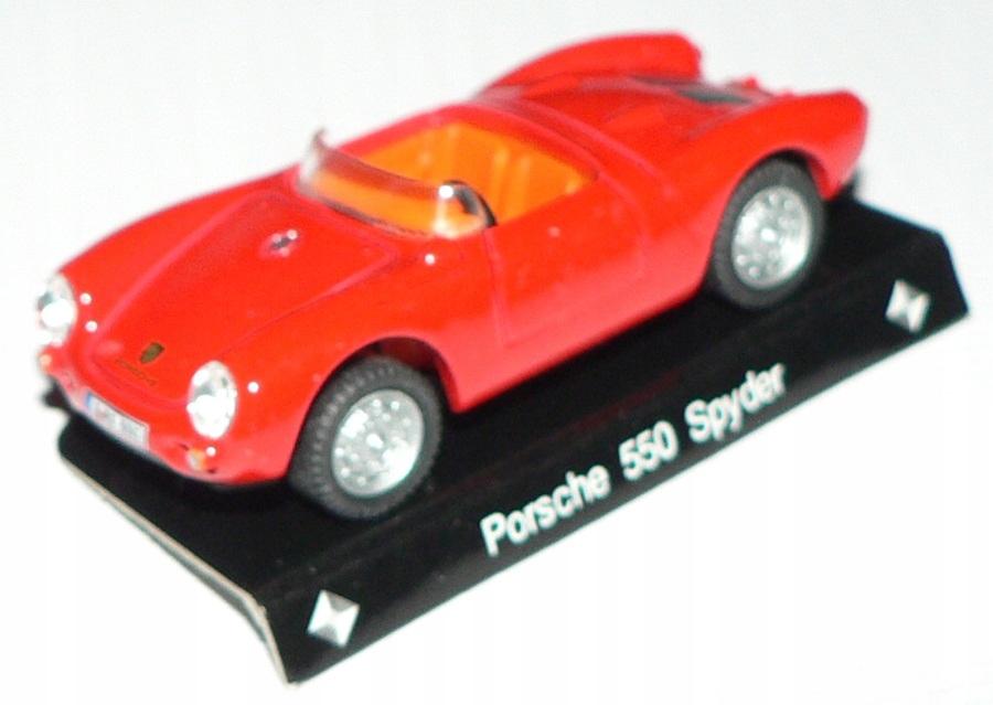 Cararama 1:72 - Porsche 550 Spyder !!!!!!!!!!!