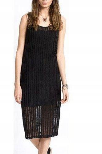 Medicine Sukienka na ramiączkach czarna r. Xs