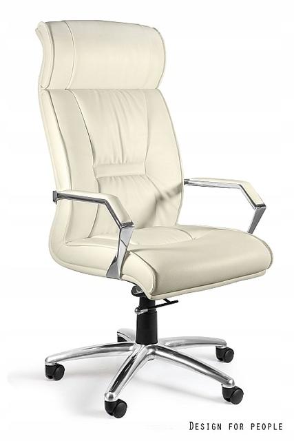 Stolička bez Celio elegantný štýl office - Eko koža