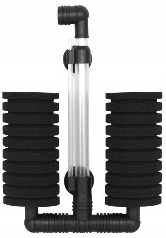 Двойной губчатый фильтр для аквариума NSF-200L До 200