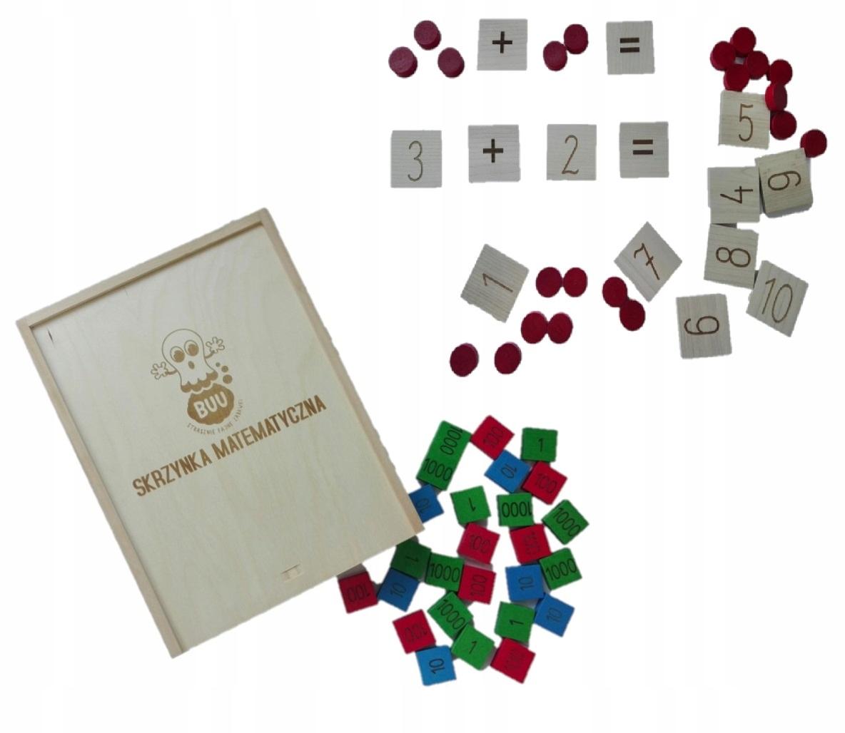 Buu MATEMATICKÝ RÁMČEK Montessori numermany 196e