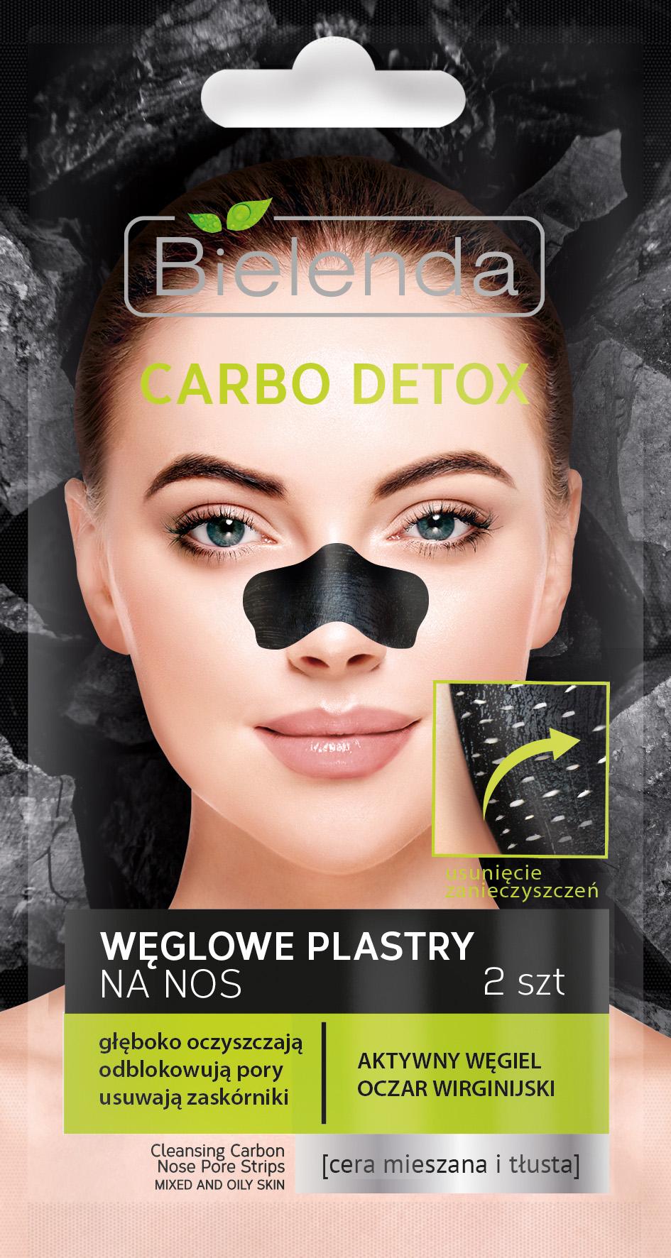 Bielenda Carbo Detox Weglowe Plastry Na Nos 2szt 7153767029 Allegro Pl