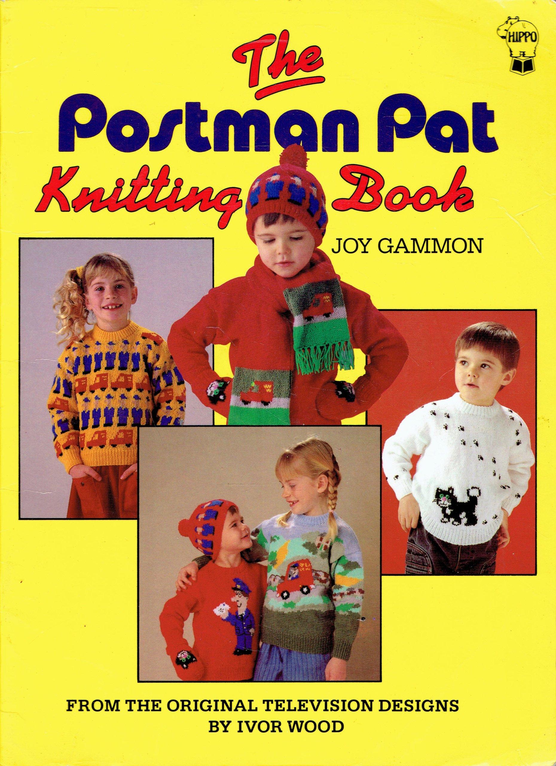 Item THE POSTMAN PAT Knitting Book Joy Gammon Postman