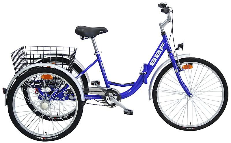 "Bicykel trojkolku BBF ""Chodiť"""