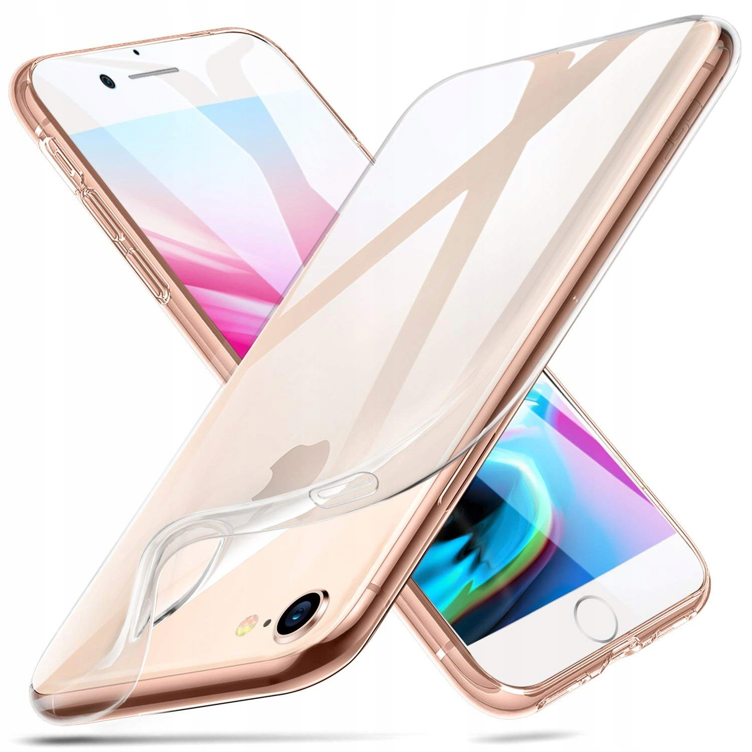 Item CASE ULTRA SLIM FOR APPLE IPHONE 7/8 + GLASS