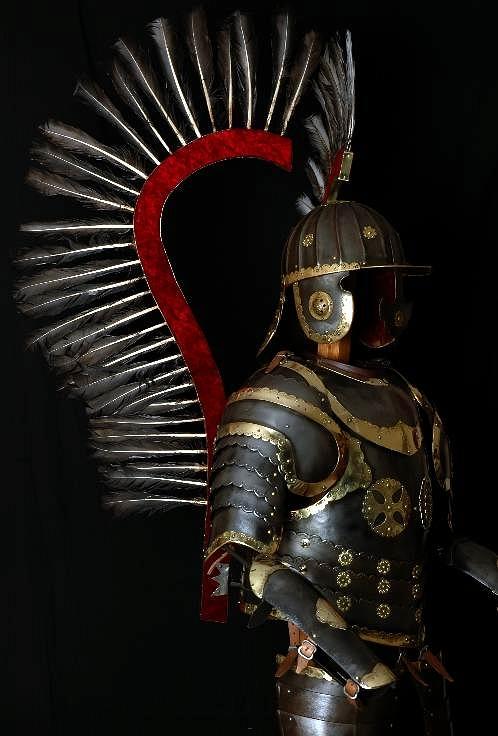Husarska Armor - 1: 1 Poľské 15. storočia