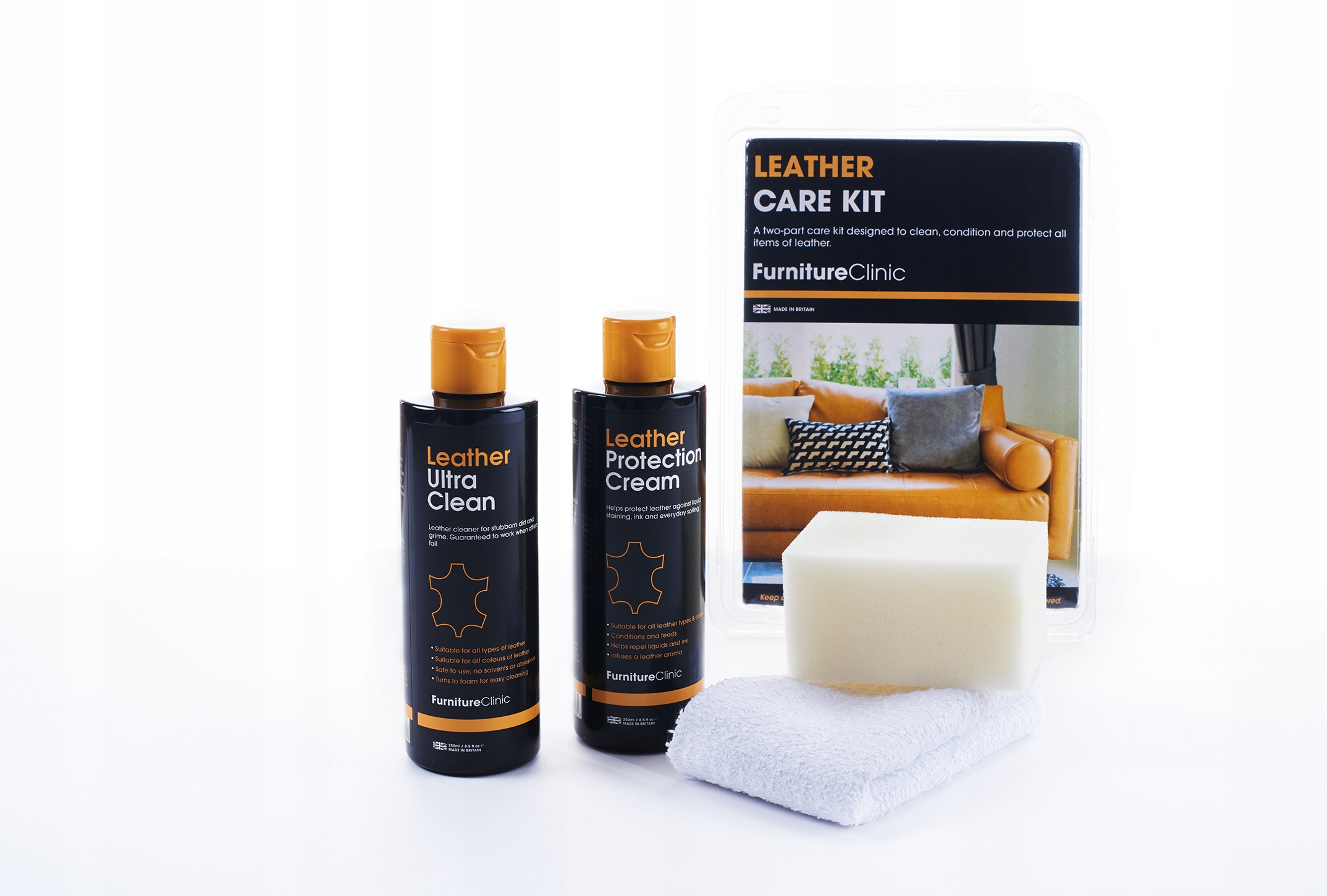 Picture of FURNITURE CLINIC LEATHER CARE SET - SET