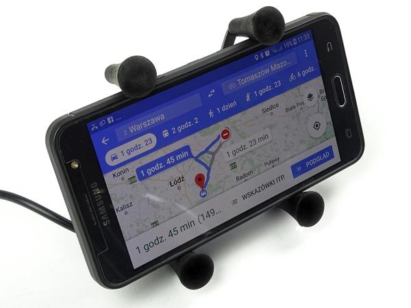 GPS-держатель для телефона-мотоцикла USB - RAM METAL
