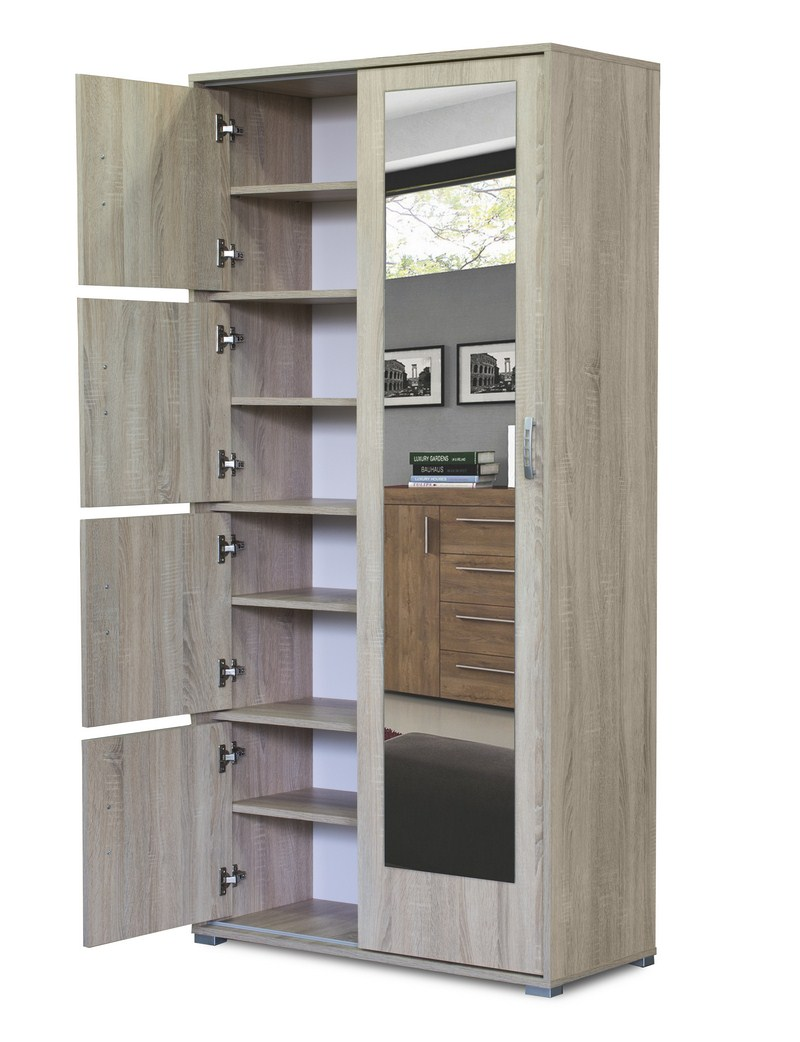 Item SPACIOUS Wardrobe with a mirror ON order 15 colors