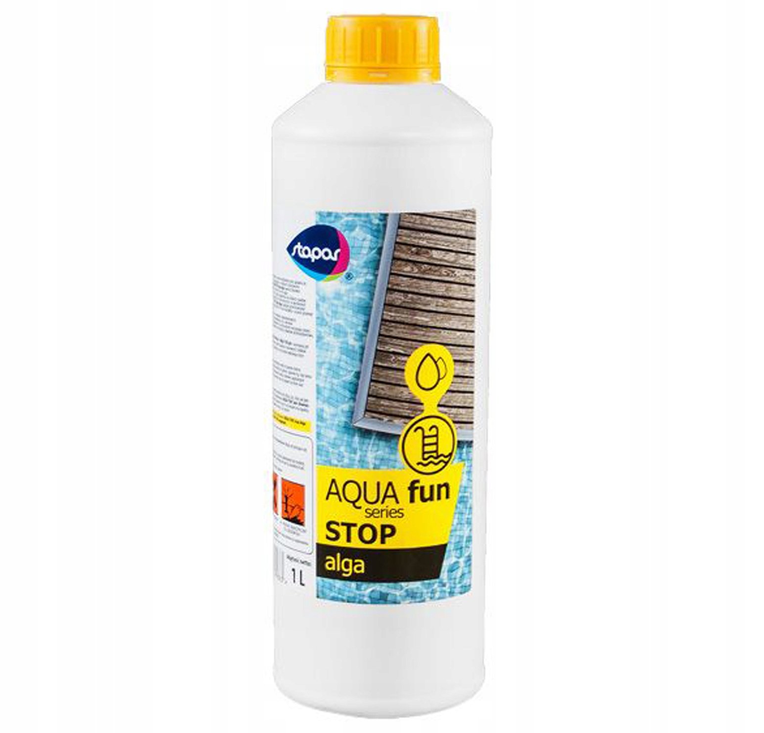 Antyglon Alga Stop Chemia Basenowa Glony Stapar 1l 7462172215 Allegro Pl