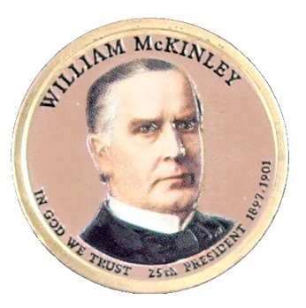 William McKinley 2013 - obojstranná farba