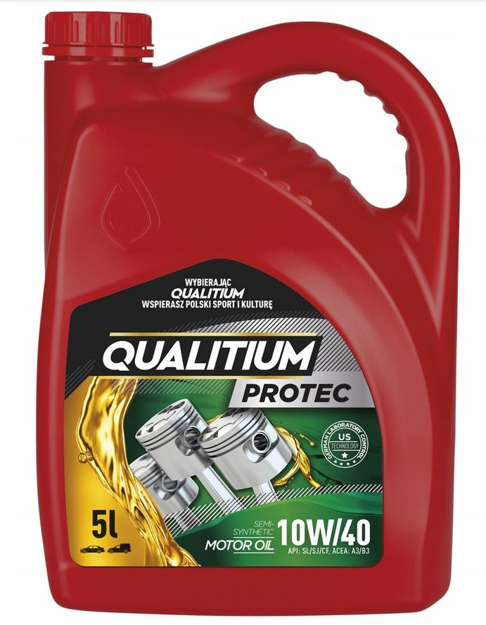 Item OIL SEMI-SYNTHETIC 10W40 5L QUALITIUM PROTEC