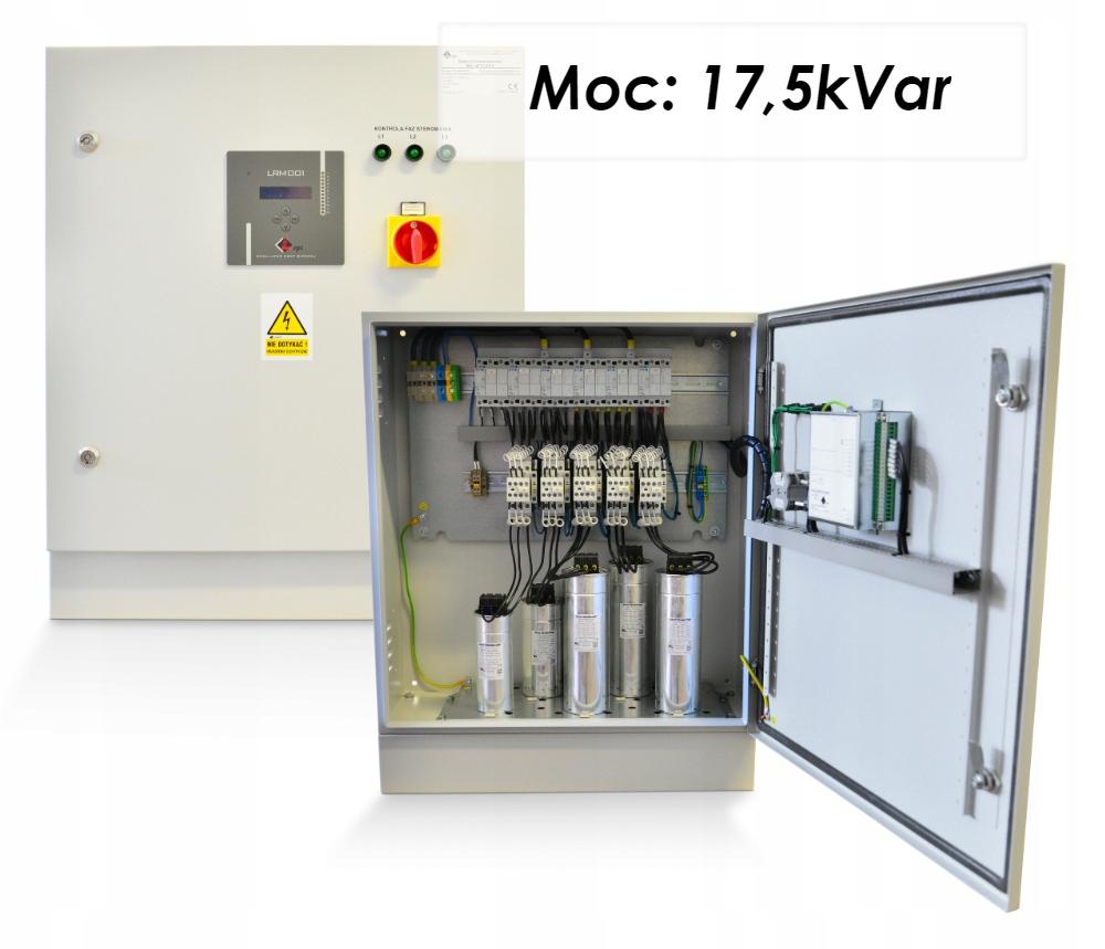 Kapacitná batéria 17.5 KVAR Kompenzácia energie