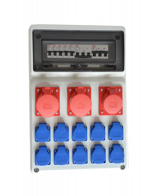 Распределительное устройство строительная электрическая rbetka D1310W