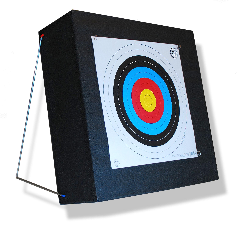 Mat łucznicza pena 60x60x25 cm s držiteľa