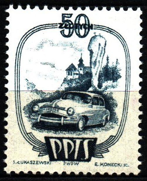 Виньетки - Totalizator Sportowy, автомобиль