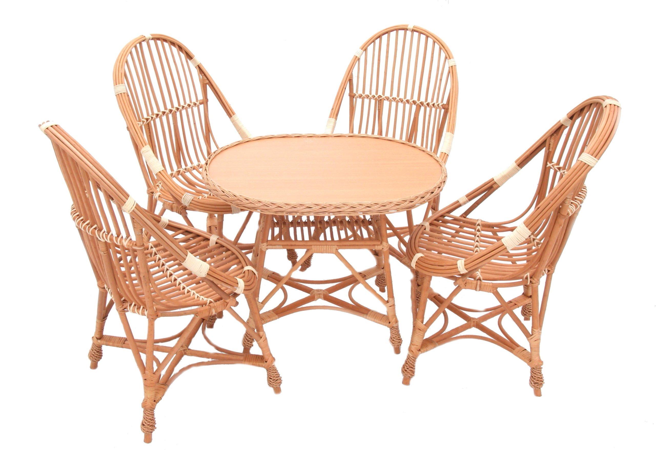 Prútený záhradný nábytok Prútený záhradný set