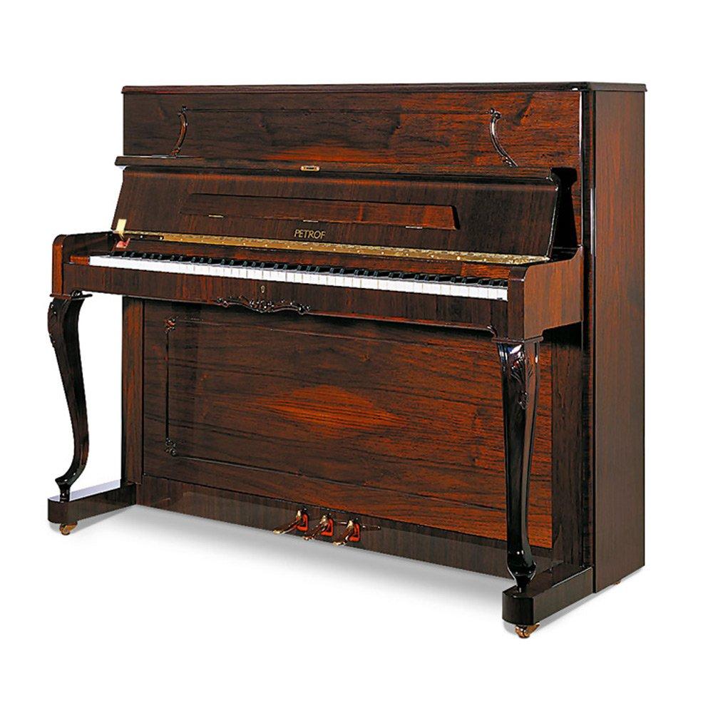 Piano Petrof P118 C1 Chippendale - orechový lesk