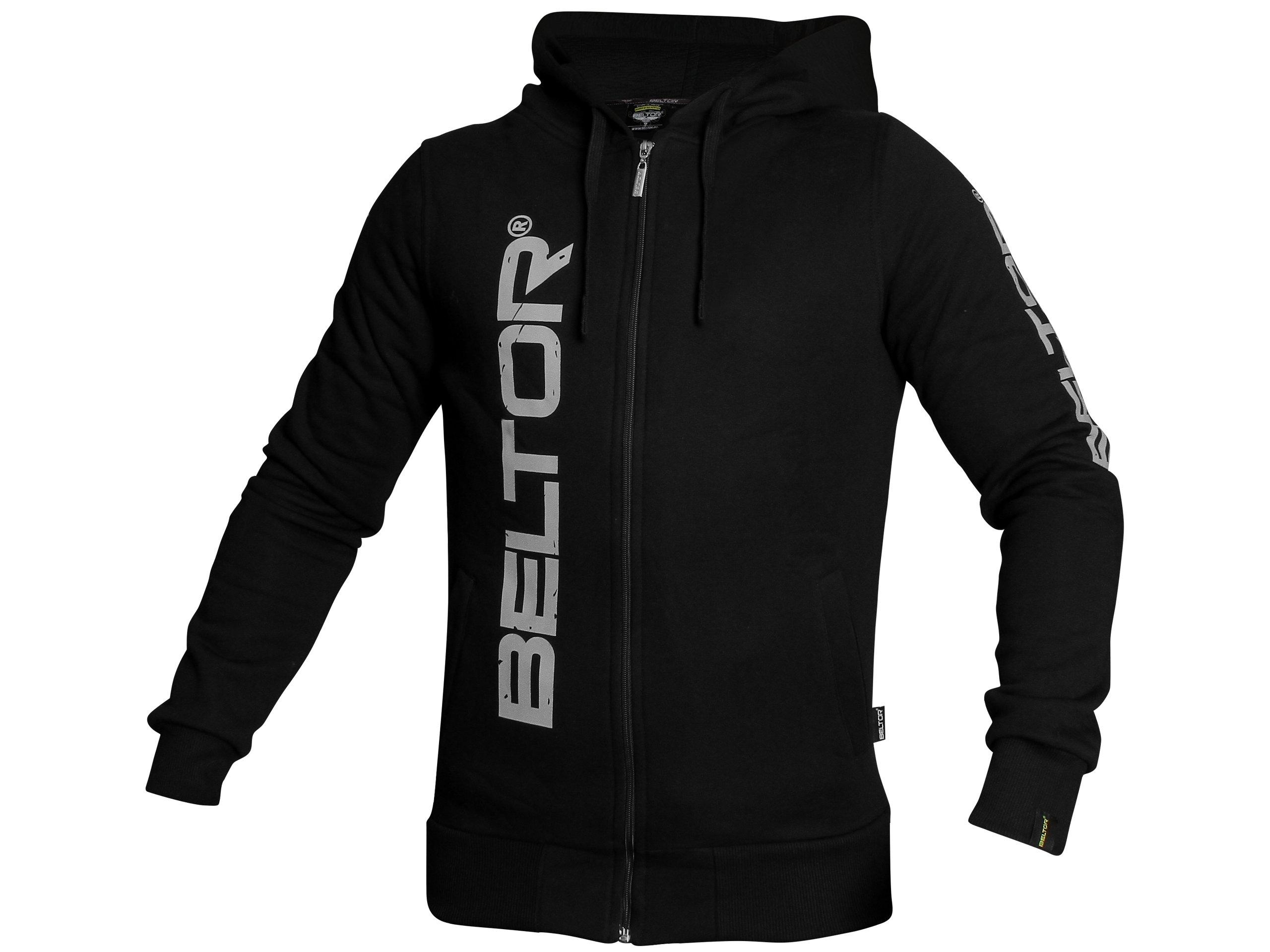 BELTOR BW Mikina na Zips s kapucňou, čierna XL Originál