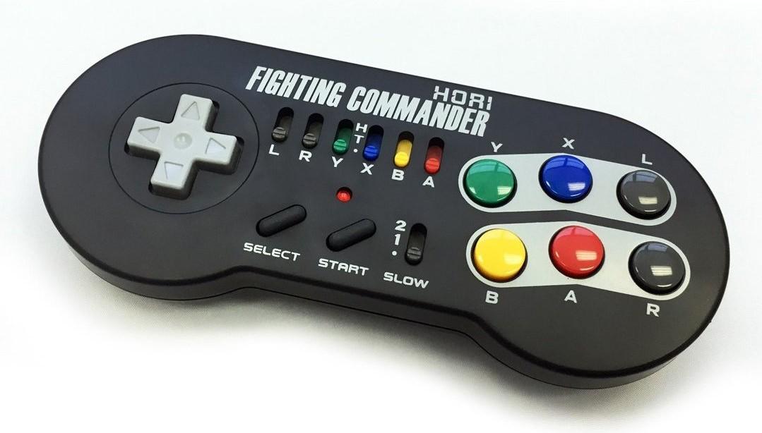 Купить HORI FIGHTING COMMANDER Pad для Nintendo SNES на Otpravka - цены и фото - доставка из Польши и стран Европы в Украину.