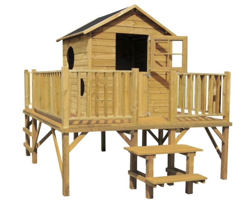 Drevený záhradný dom pre deti Maciej