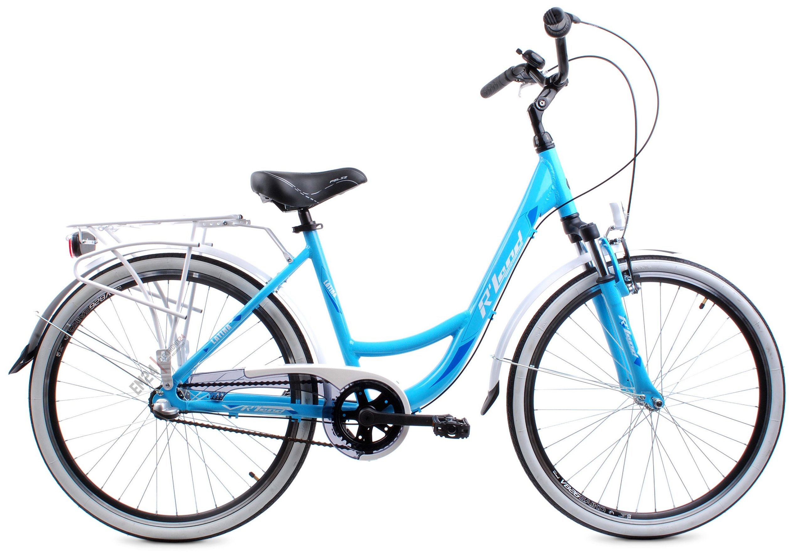 Damski Rower Miejski Rland Latina 26 3v Niebieska 7232167194 Allegro Pl