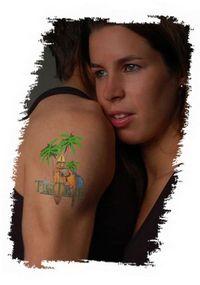 Item Zrób sam tatuaż Papier Tattoo A4 - The Magic Touch