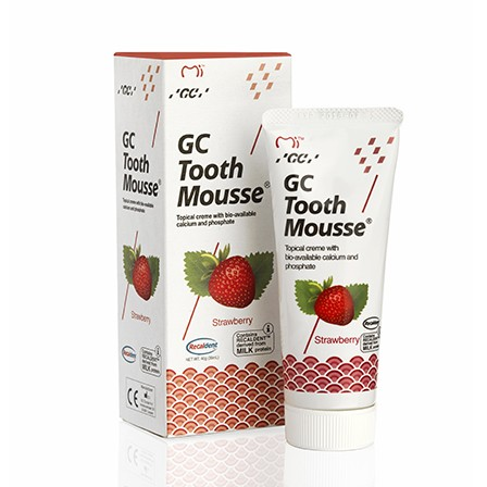 GC TOOTH MOUSSE LIQUID ENLAY STRAWBERRY 35ML