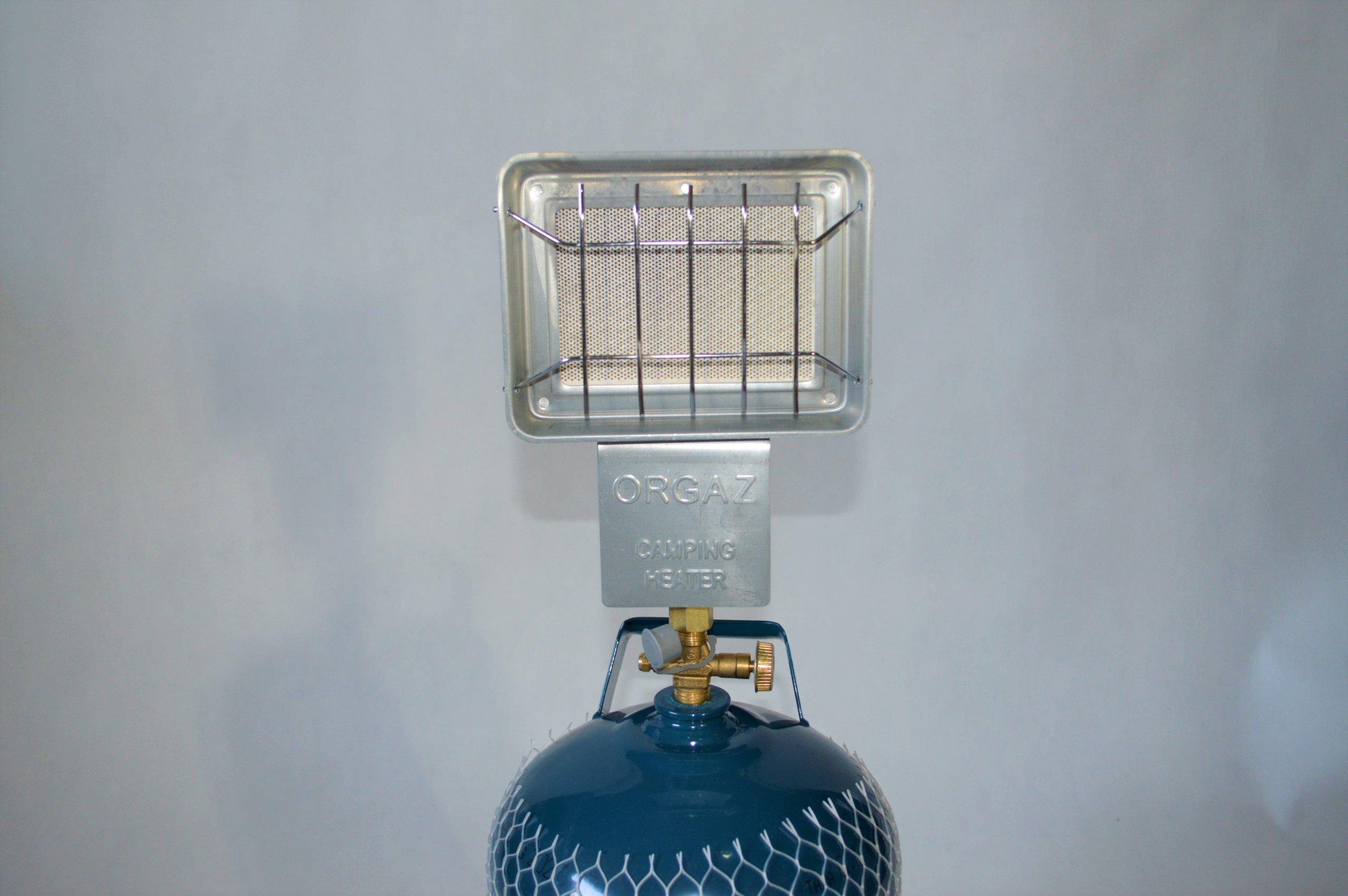 Keramický ohrievač plynový valec turistické 3 kg