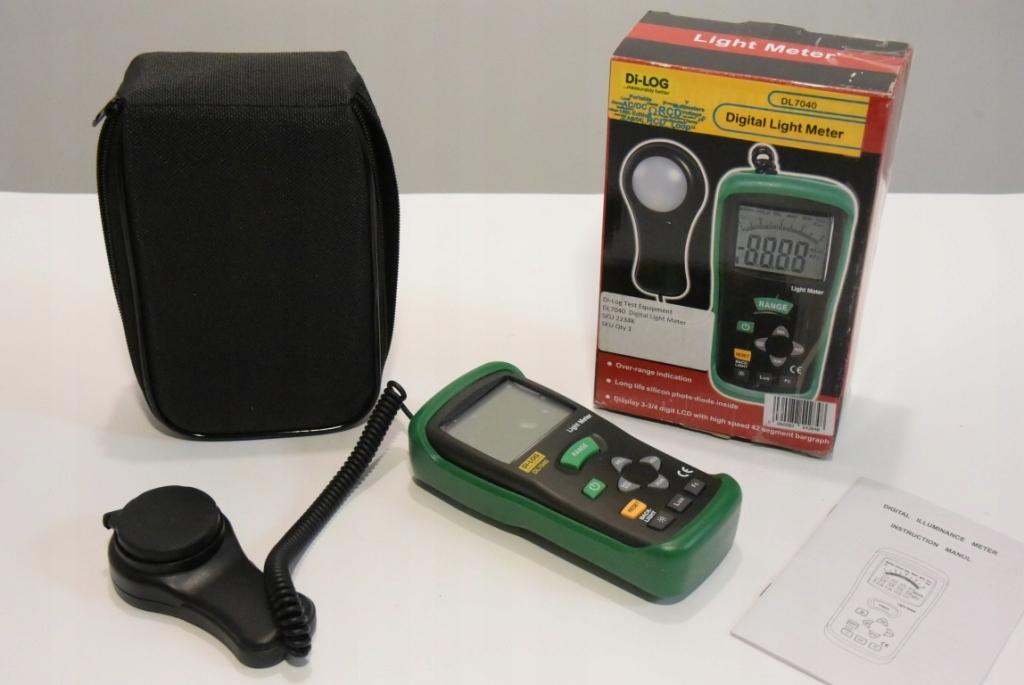 Digitálny svetelný merač di-log DL7040