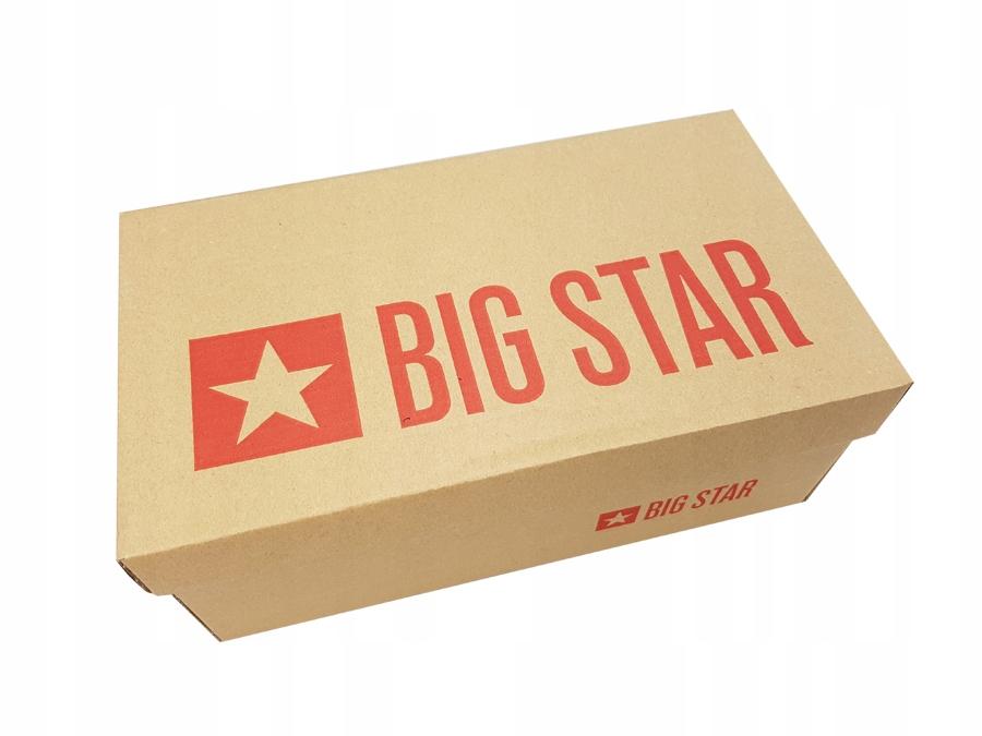 Buty damskie zimowe Big Star camel BB274670 38