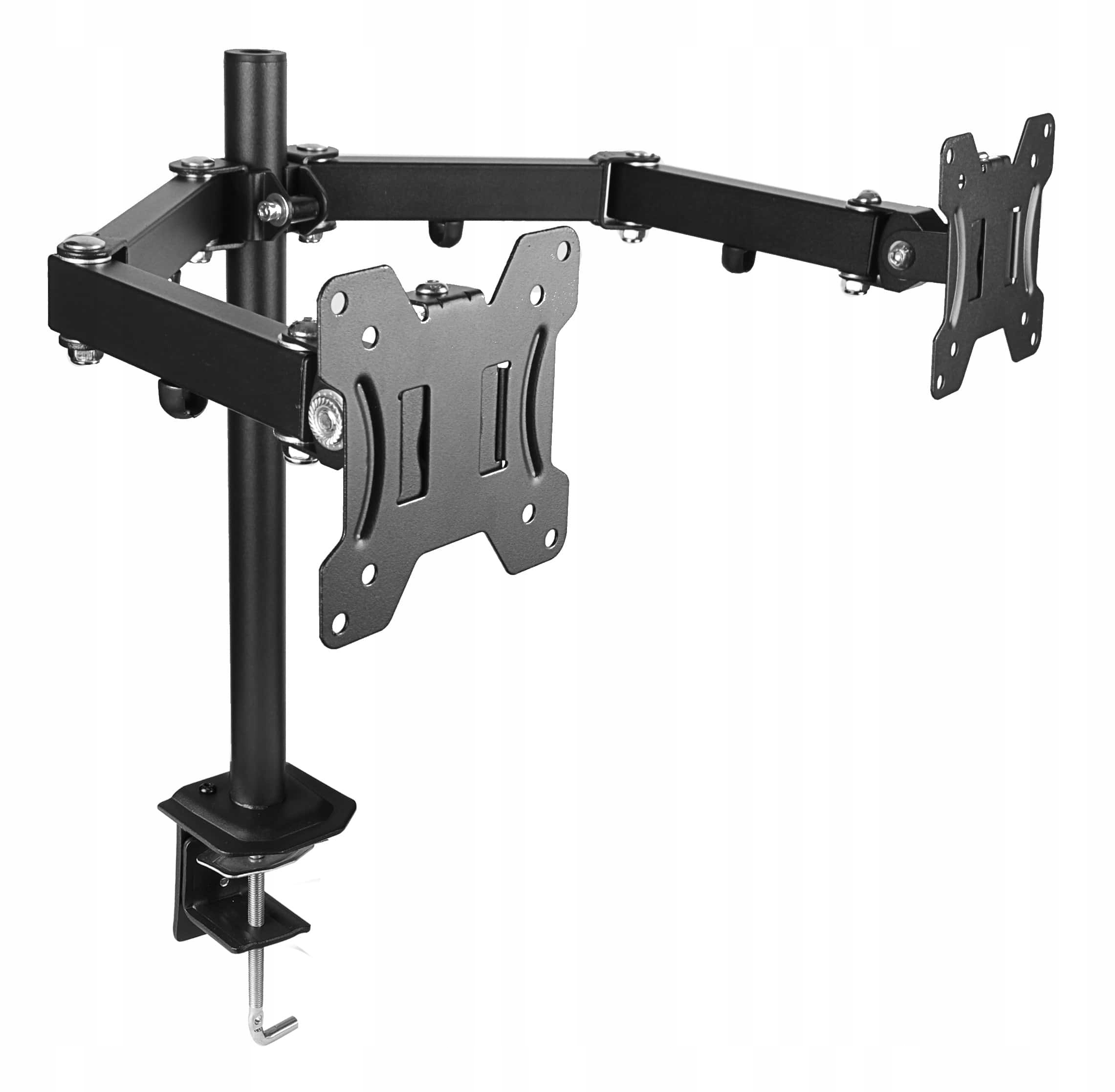 Item DESKTOP SWIVEL mount for two monitors 10-27