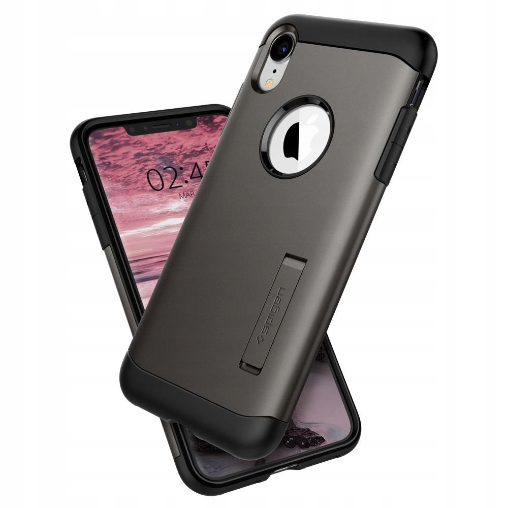 Etui Spigen do iPhone Xr, case, obudowa, cover, Sa
