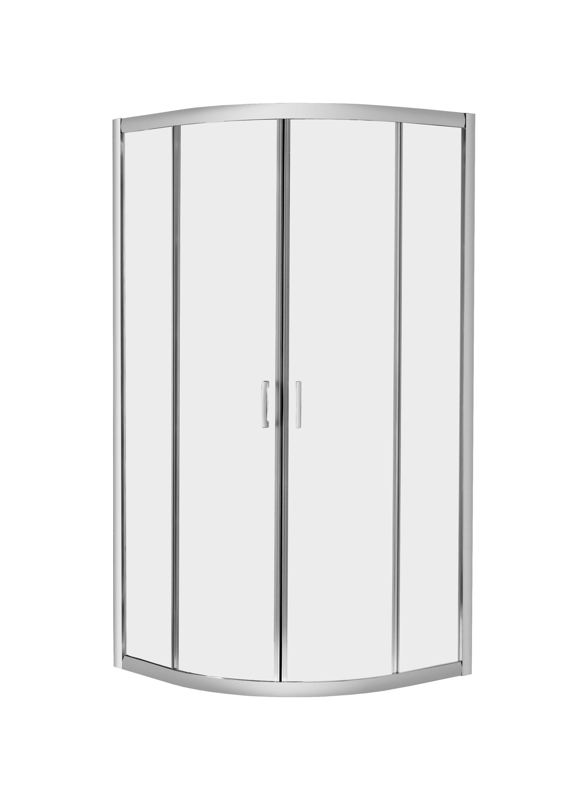 Radaway Premium Plus A polkruhová sprchová kabína 80x80x190