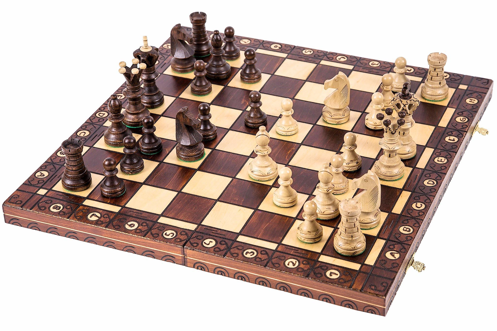 Item CHESS WOODEN - 54cm - IDEAL FOR a GIFT
