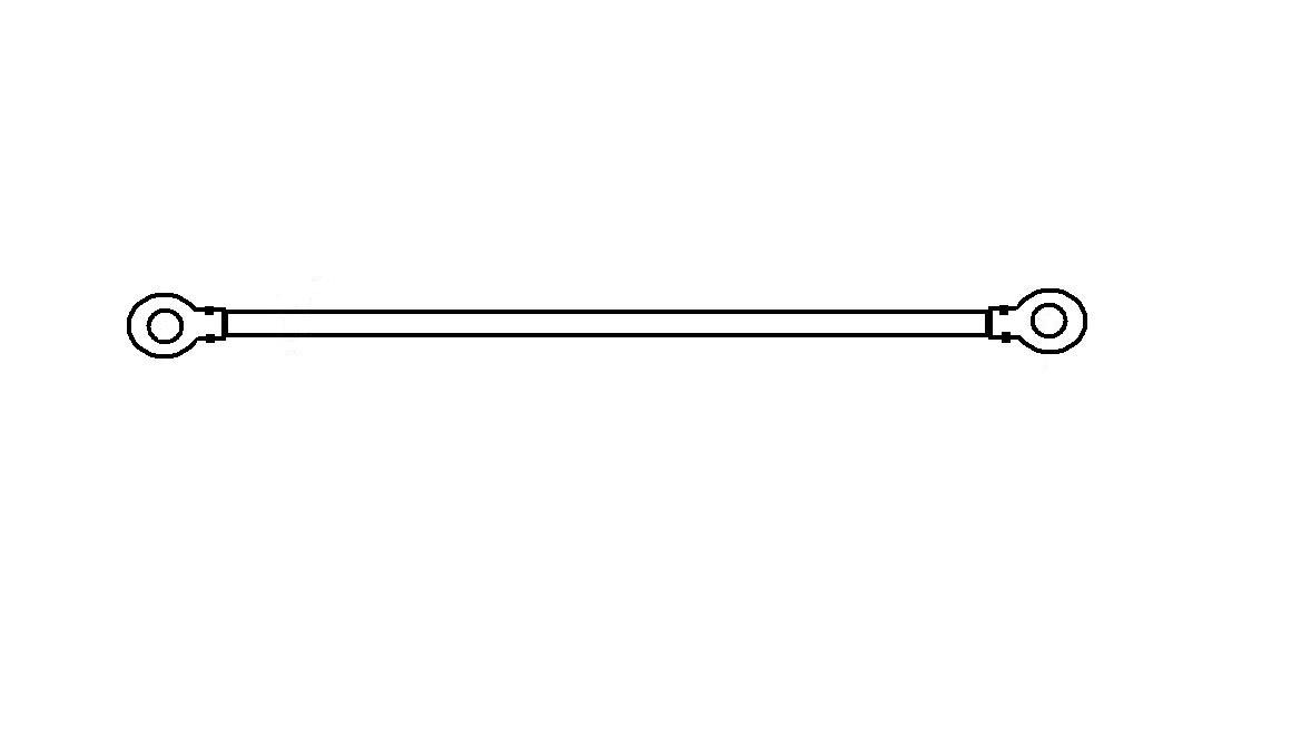 Vykurovacia elektróda Vykurovací popruh zvárač 400mm